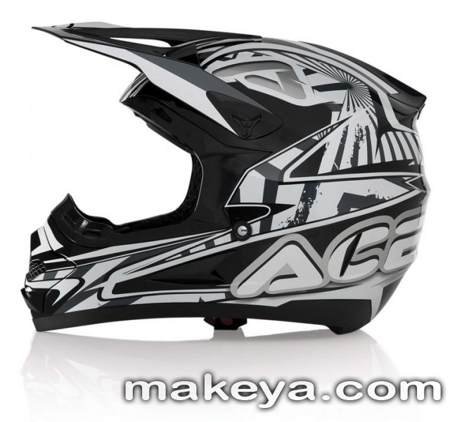 Кросова каска ACERBIS Profile Basic Black