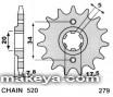 Преден пиньон за мотор  №279
