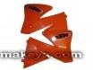 Пластмаси радиатор KTM EXC520