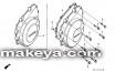 Капак на генератор за HONDA 11321-MW0-00...