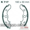 Накладки за мотоциклет  K717