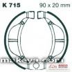Накладки за мотоциклет  K715