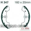 Накладки за мотоциклет  H347