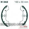 Накладки за мотоциклет  H342