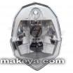 Motorcycle Headlight 12408