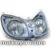 Motorcycle Headlight 12444