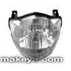 Motorcycle Headlight 13870